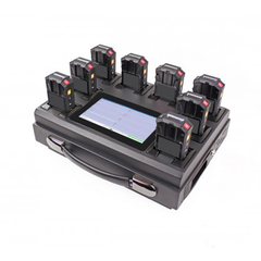 8-Port Professional Body Camera Docking Station