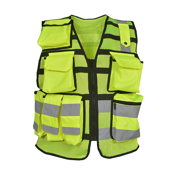Overwatch TB3 Yellow Reflective Load Bearing Vest