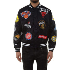 Supreme X NBA Team Jacket Warm up - Streetwear | NJ Footwear