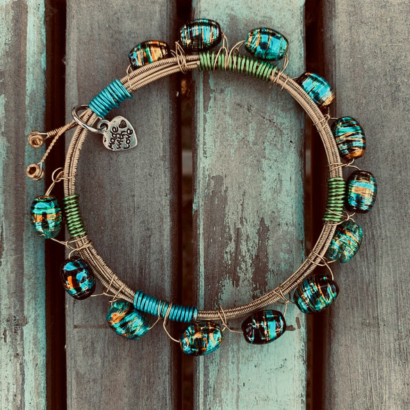 Recycled Guitar String Bracelet 2
