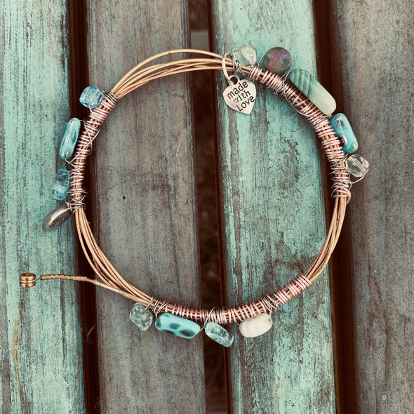 Recycled Guitar String Bracelet 6