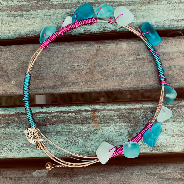 Recycled Guitar String Bracelets 14