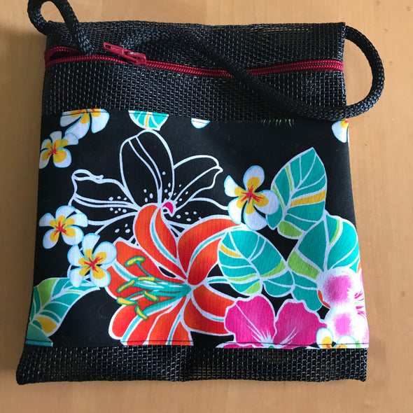 Beach Bag, Hibiscus