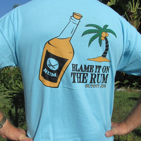 Blame it on the Rum T-shirt, Men