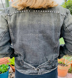 Denim Jacket, Charcoal Corduroy