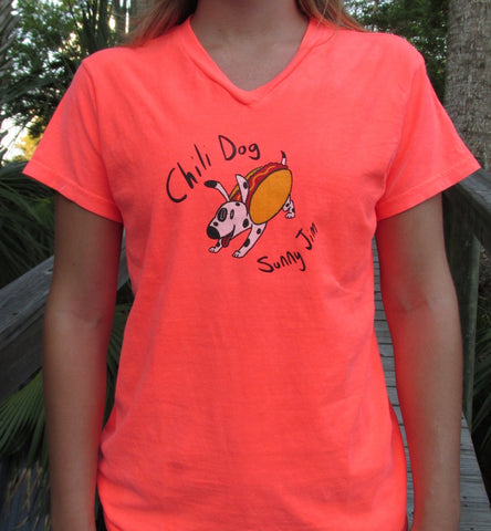 Chili Dog T-shirt, Women