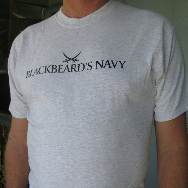 Blackbeard's Navy T-shirt, men