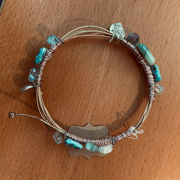 Recycled Guitar String Bracelet 9