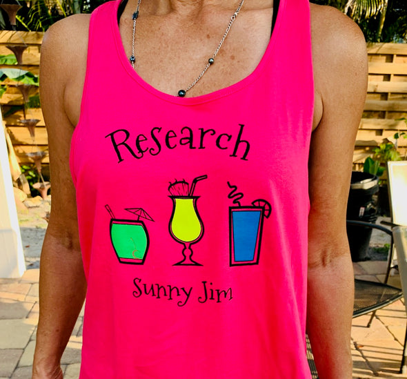 Research Racerback Ladies Tank Top