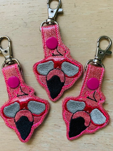 Key Chains, Flamingo