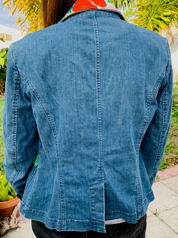 29 Upcycled Denim Jacket,  Jams Blazer