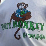 Party Monkey in Training Kid's T-shirt