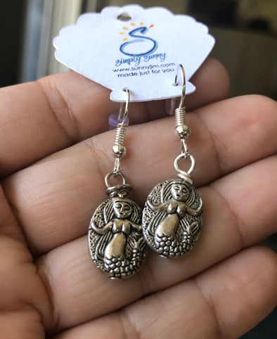Mermaid Bead Earrings