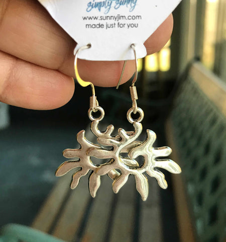 Swirling Sun Earrings