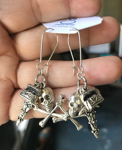 Blackbeard's Navy Bundle Earrings