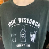 Doin' Research T-shirt, Men