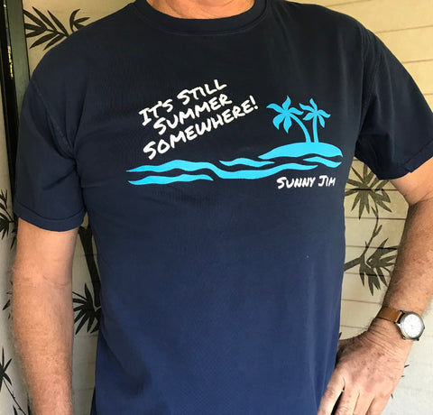 It's Still Summer Somewhere T-shirt, Men