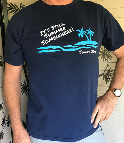 It's Still Summer Somewhere Men's T-shirt