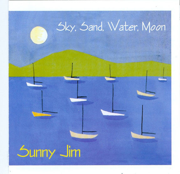 Sky, Sand, Water, Moon Download
