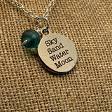 Sky Sand Water Moon Necklace