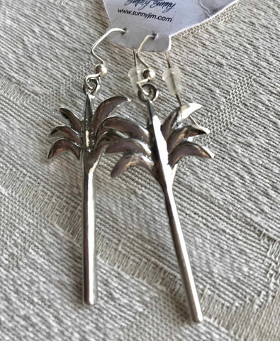 Tall Palm Earrings