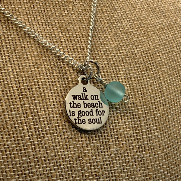 A Walk on the Beach Necklace