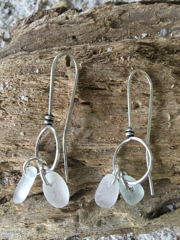 Sea Glass and Pottery Shard Jewelry