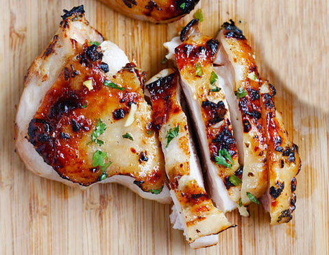 Chili Lime Grilled Chicken Thighs
