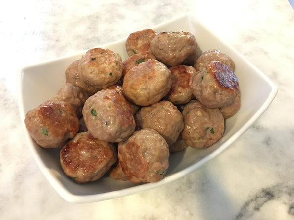 Lemongrass Meatballs