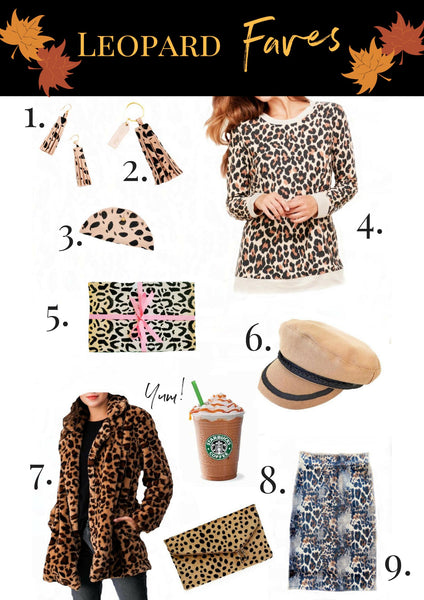 Leopard Print Faves