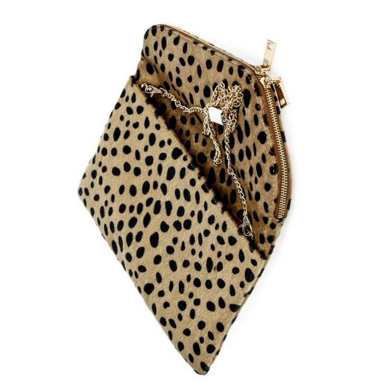 Chic Leopard Clutch