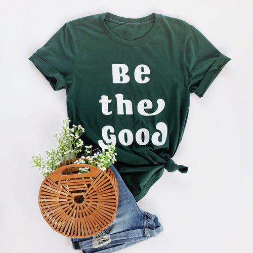 "Nominate - ""Be The Good"" Tee Recipient"