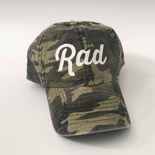 Rad Washed Out Camo Cap