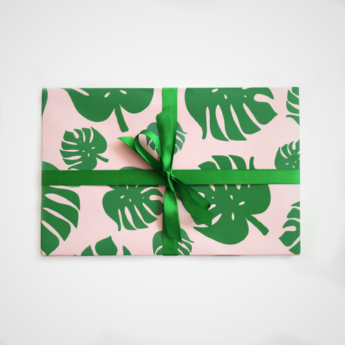 Wrapping Paper - Tropical Palm Leaf