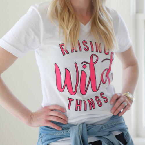 Tees -Raising Wild Things