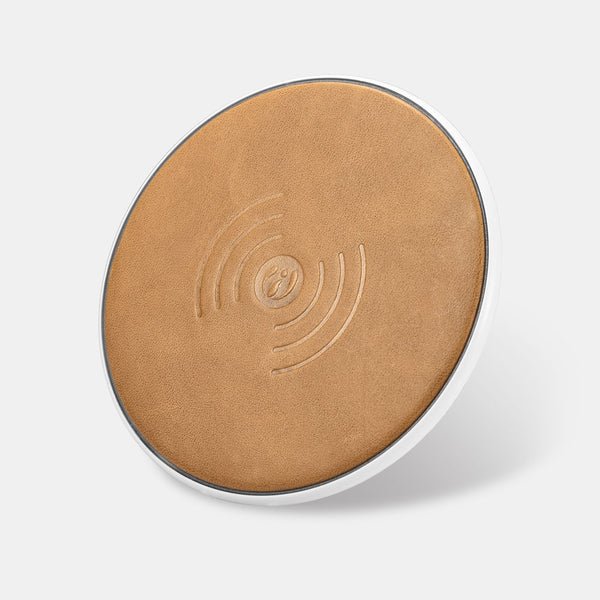 Leather Qi Wireless Charger for iPhone and Android