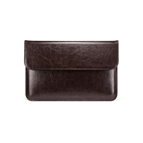 Coffee Leather Case for MacBook - By Dominic  - 1