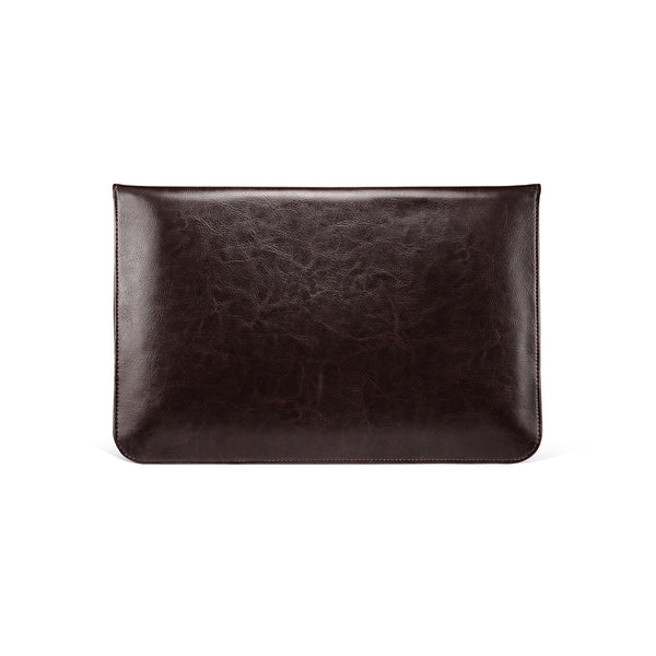 Coffee Leather Case for MacBook - By Dominic  - 3
