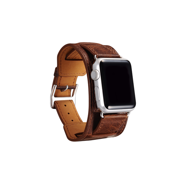 Coffee Trinity Leather Apple Watch Band - By Dominic  - 2