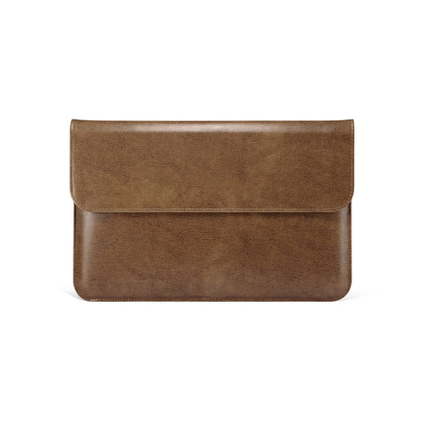 Brown Leather Case for MacBook - By Dominic  - 1