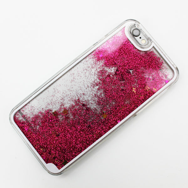 Pink Liquid Waterfall iPhone Case - By Dominic  - 2