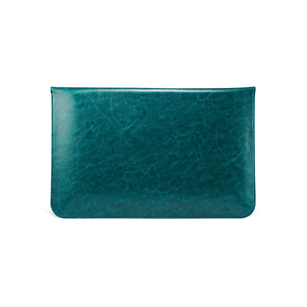 Teal Leather Case for MacBook - By Dominic  - 3