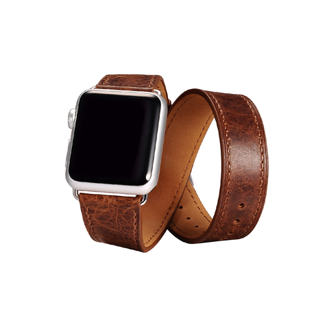 Coffee Trinity Leather Apple Watch Band - By Dominic  - 1