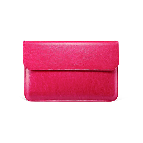 Hot Pink Leather Case for MacBook - By Dominic  - 1