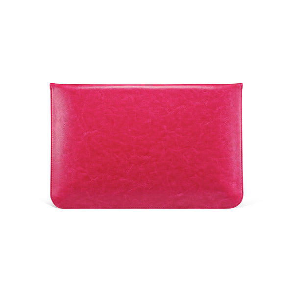 Hot Pink Leather Case for MacBook - By Dominic  - 3