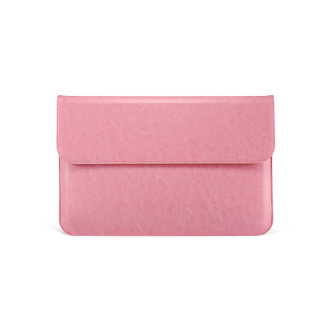 Pink Leather Case for MacBook - By Dominic  - 1