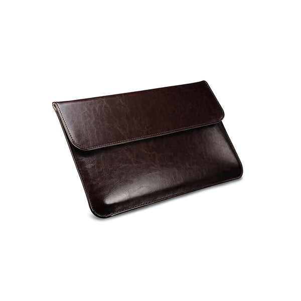 Coffee Leather Case for MacBook - By Dominic  - 2