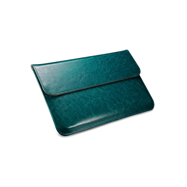 Teal Leather Case for MacBook - By Dominic  - 2