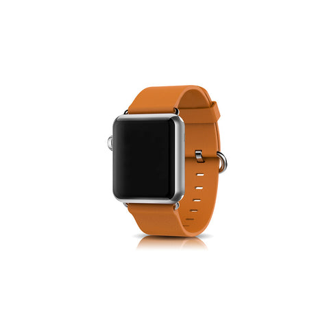 Classic Brown Leather Apple Watch Band - By Dominic  - 1