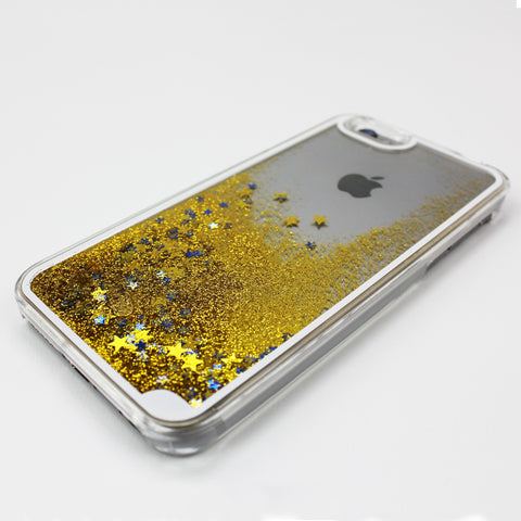 Gold Liquid Waterfall iPhone Case - By Dominic  - 1